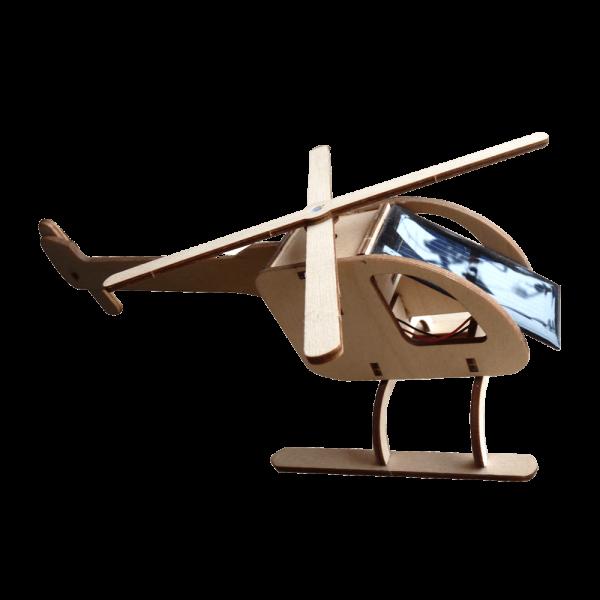 Grand Hélicoptère Bois Energie Solaire R018b