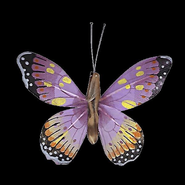 Papillon Animé Ailes Violettes Marbré Espagnol