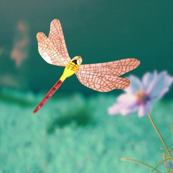 Décoration Animée Insecte Volant Libellule