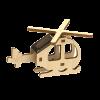 Mini Hélicoptère Kit Bois Solaire