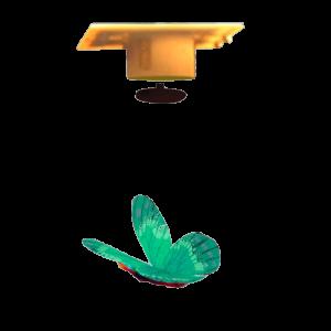 Slow Déco Papillon Volant Énergie Verte