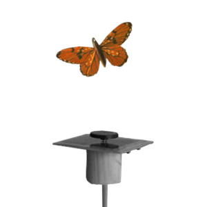 Accessoire Papillon Solaire Plume 8cm Heliobil
