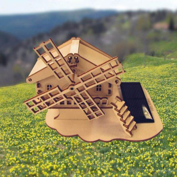 Chalet Bois du Jura Moulin Solaire