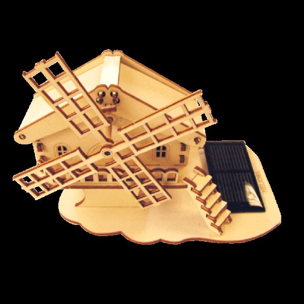 Chalet Moulin Jouet Solaire