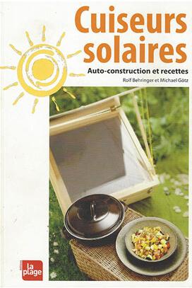 Livre Cuiseurs Solaires Auto-construction Recettes
