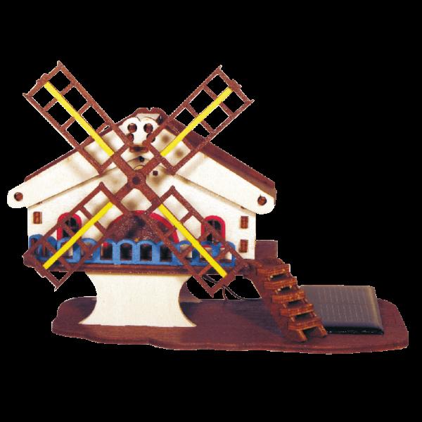 Moulin Montagne Jouet Bois Coloré