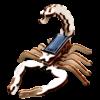 Jouet Animé Sans Pile Scorpion Bois