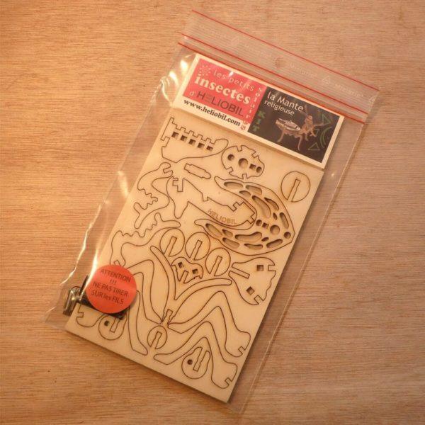 Jouet Bois en Kit DIY Mante Religieuse Insecte