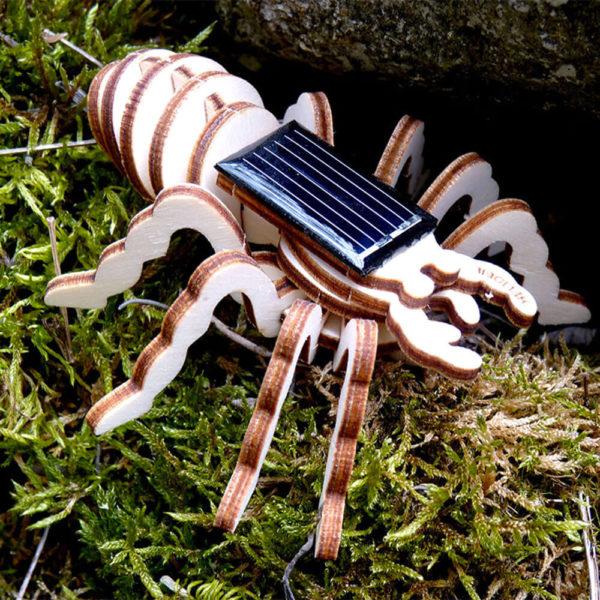 Maquette Araignée Articulée Mécanisme Solaire